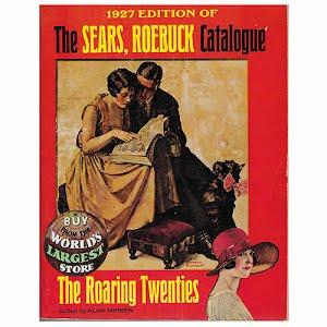 1927 Sears Roebuck Catalog The Roaring Twenties