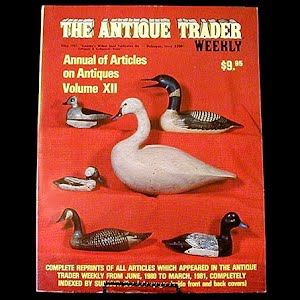 1982 Antique Trader Annual of Articles
