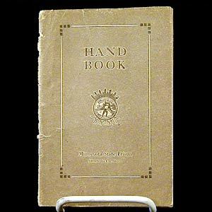 1924 Handbook Stillwater Minnesota State Prison