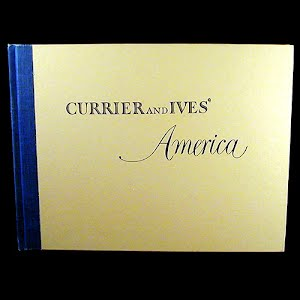 1952 Book Currier and Ives America