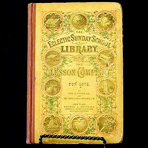 1875 Book The Eclectic Sunday School Library