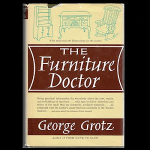 1962 Book The furniture Doctor, George Grotz