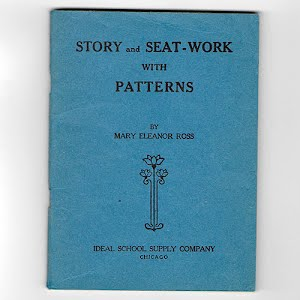 1909 Book Story and Seat Work with Patterns