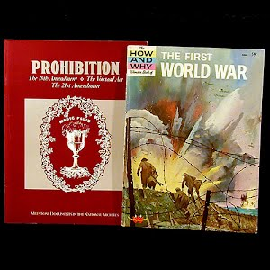 Childrens World War I and Prohibition Books