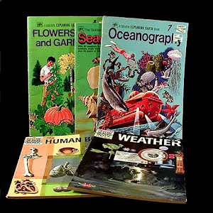 Childrens Sea Life, Oceanography, Flowers and the Human Body Books