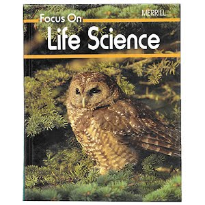 Life Science Students Textbook, Focus on Science, middle school, 1989