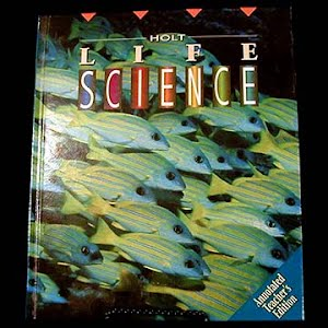 Life Science Annotated Teachers Edition Textbook, 1994, middle school