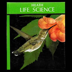 Life Science student's Textbook, 1985, middle school
