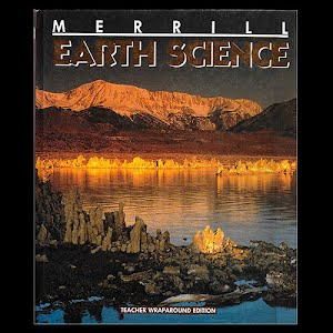Earth Science Teacher's Wraparound Edition Textbook, 1993, high school