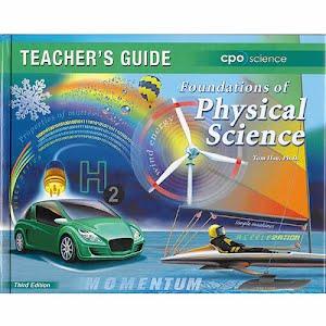 Physical Science Teacher's Guide Textbook, high school