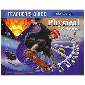 Physical Science Teachers Guide Textbook, high school