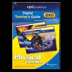 Physical Science Digital Teachers Guide, high school