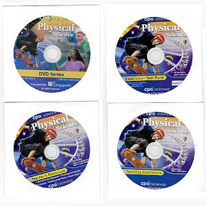 Physical Science Teaching Disks, high school