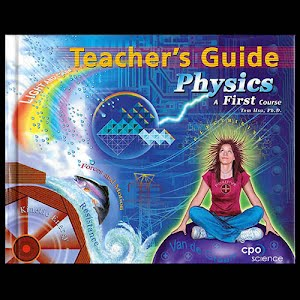Physical Science Teachers Guide Textbook, high school, A First Course