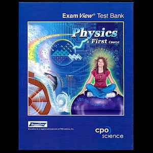 Physical Science Teachers Exam View Test Blanks, high school, A First Course
