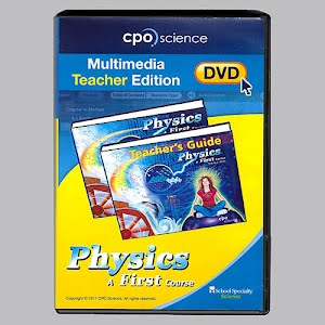 Physical Science Multimedia Teacher Edition DVD, high school, A First Course