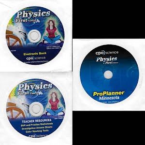 Physical Science Teacher Resources, Electronic Book, Pro Planner, high school, A First Course