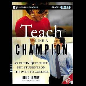 Book Teach Like a Champion, Jossey Bass Teacher