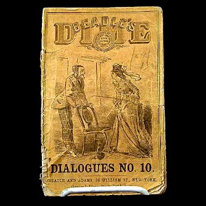 1871 Beadles Dime, Dialogues Number 10, story by Mark Twain