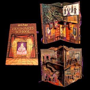 2001 Harry Potter Hogwarts School Pop Up Book