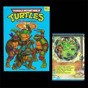 1990 Teenage Mutant Ninja Turtles Pop Up Storybook