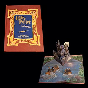 Harry Potter and Sorcerers Stone Pop Up Book first edition