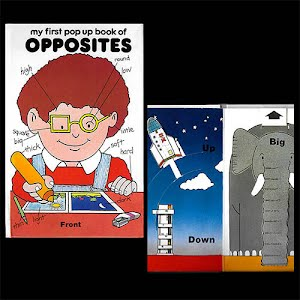 1984 My First Pop Up Book of Opposites Pop Up Book