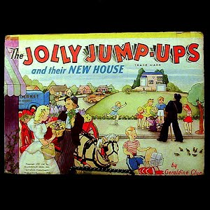 The Jolly Jump Ups and their New House Pop Up Book