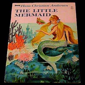 1960 The Little Mermaid, Hans Christian Anderson Children Book