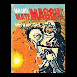1968 Major Matt Mason Moon Mission, A Big Little Children Book