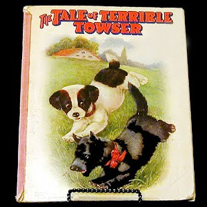Vintage 1932 The Tale of Terrible Towser Children Book