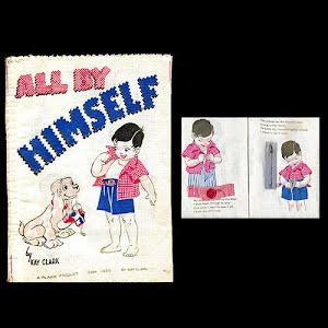 1950 cloth All By Himself Book A Plakie Product