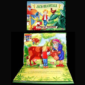 1995 Jack and the Beanstalk Pop up Book