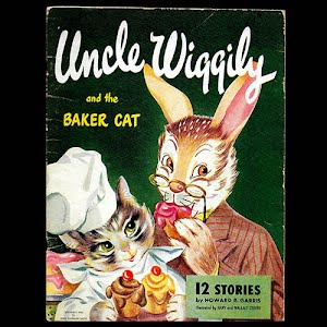1946 Uncle Wiggily and the Baker Cat Book
