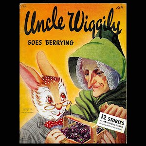 1946 Uncle Wiggily Goes Berrying Book