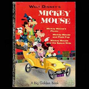 1953 Walt Disney Mickey Mouse Book