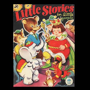 1946 Little Stories for little people children book