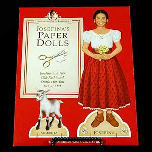 Original vintage Paper Dolls 1998 Josefina American Girl Paper Dolls