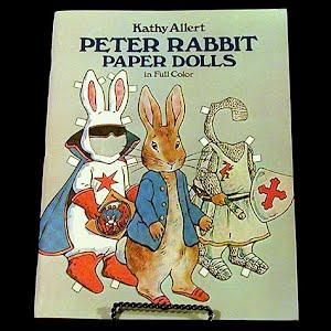 Original vintage Peter Rabbit Paper