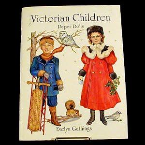 Original vintage Victorian Children Paper Dolls