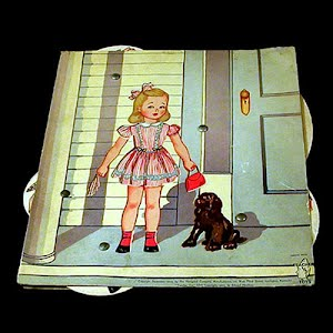 Original vintage 19 44 Design your own outfits Paper Doll