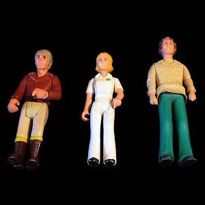 Vintage Adventure People Figure Dolls