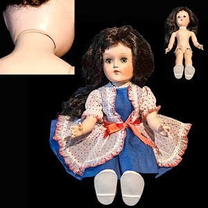 Vintage 1954 Ideal Toni Walker Doll with original clothes