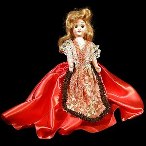 Vintage 1950 Storybook Character Doll