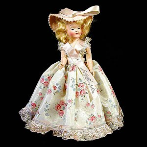 Vintage 1950 Lady Hampshire Storybook Character Doll