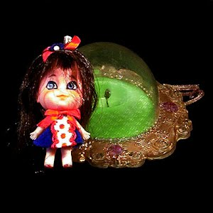 Vintage 1966 Lucky Locket Kiddle Character Doll