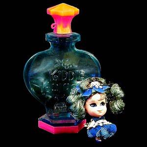 Vintage 1967 Kiddle Kologne Bluebell Doll