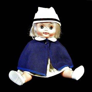 Vintage 1966 Nurse Character Doll