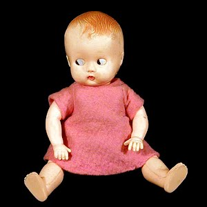 Vintage 1950 Celluloid Baby Doll