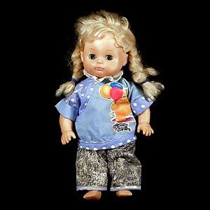 Vintage 1985 soft body Girl Doll